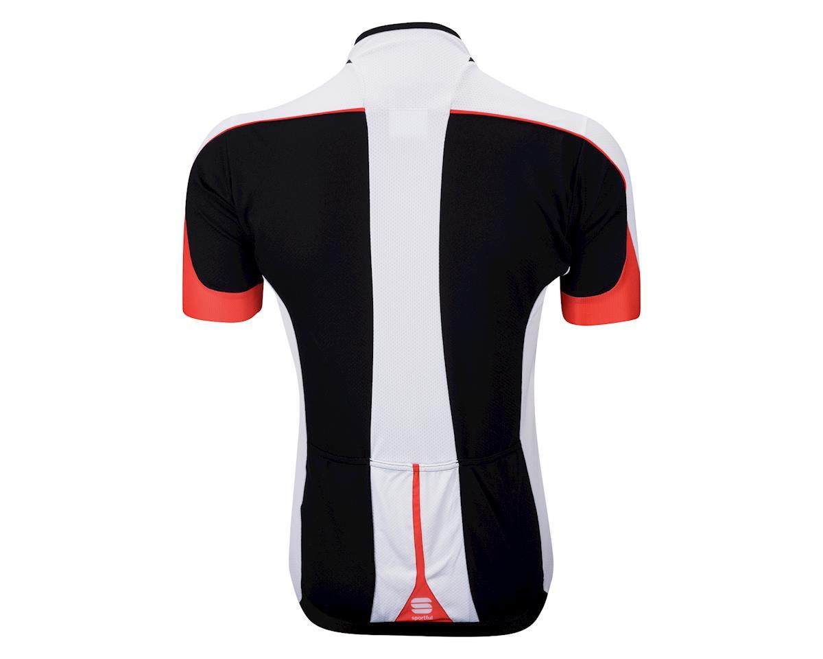Sportful Giau Short Sleeve Jersey (Black/Red)