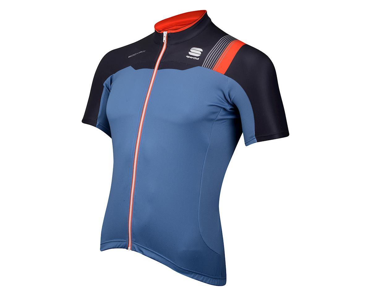 2ba8baf11 Sportful BodyFit Pro Team Short Sleeve Jersey (Blue Black) (Xxxlarge ...