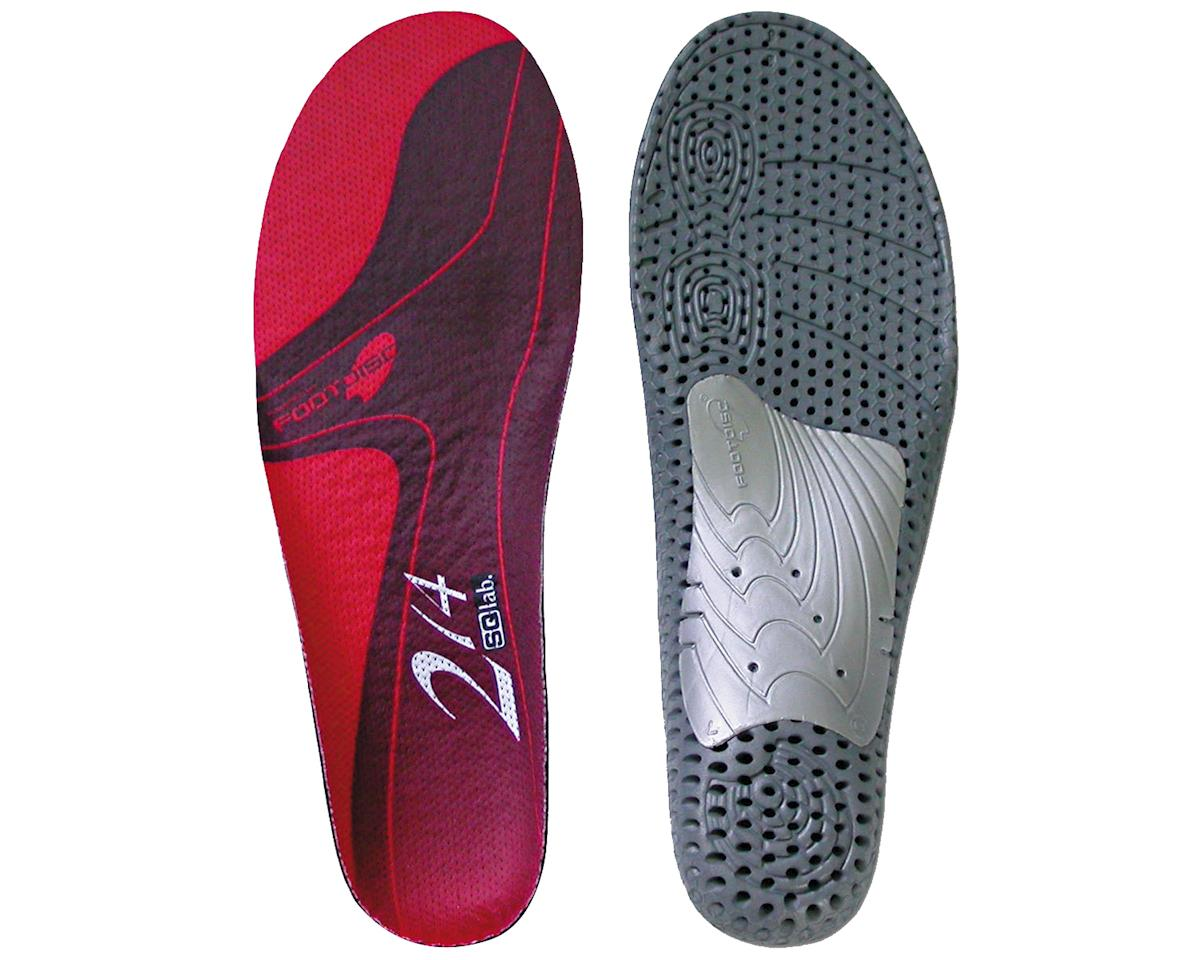 214 Low Arch insole, 46.5-48.5 - red