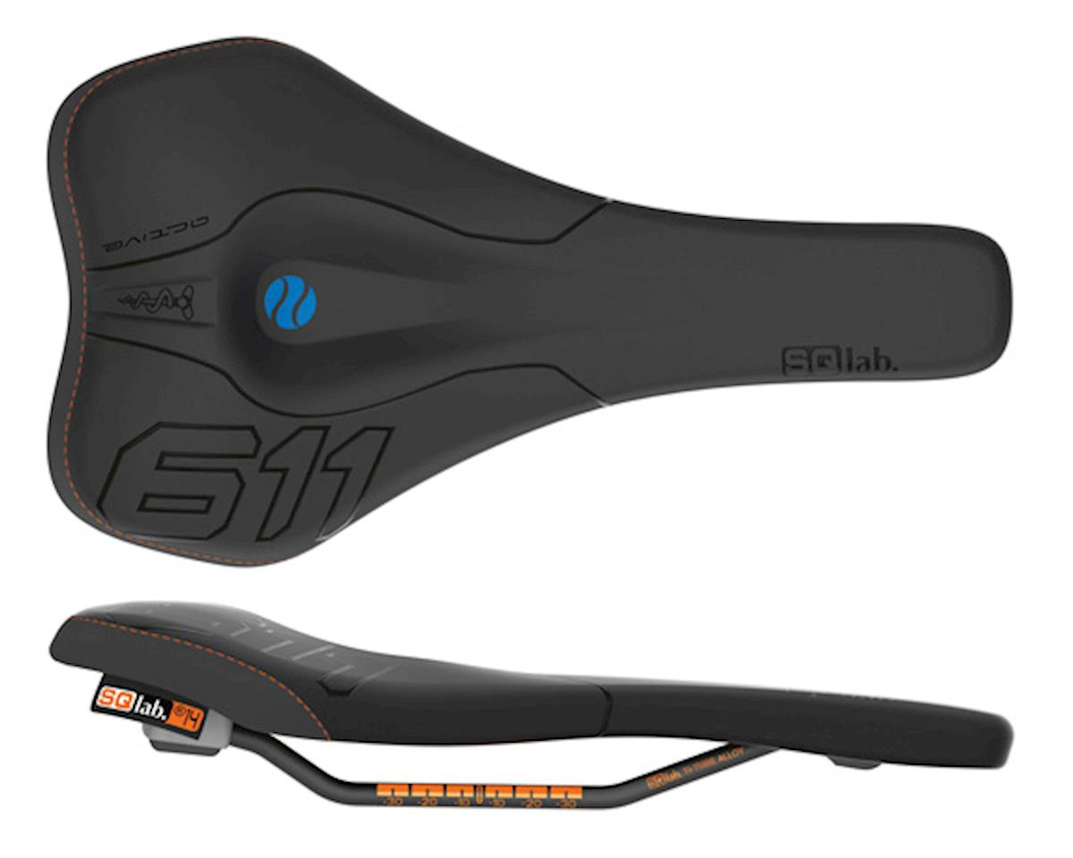 611 Ergowave Active Ti rail 130* saddle, blk