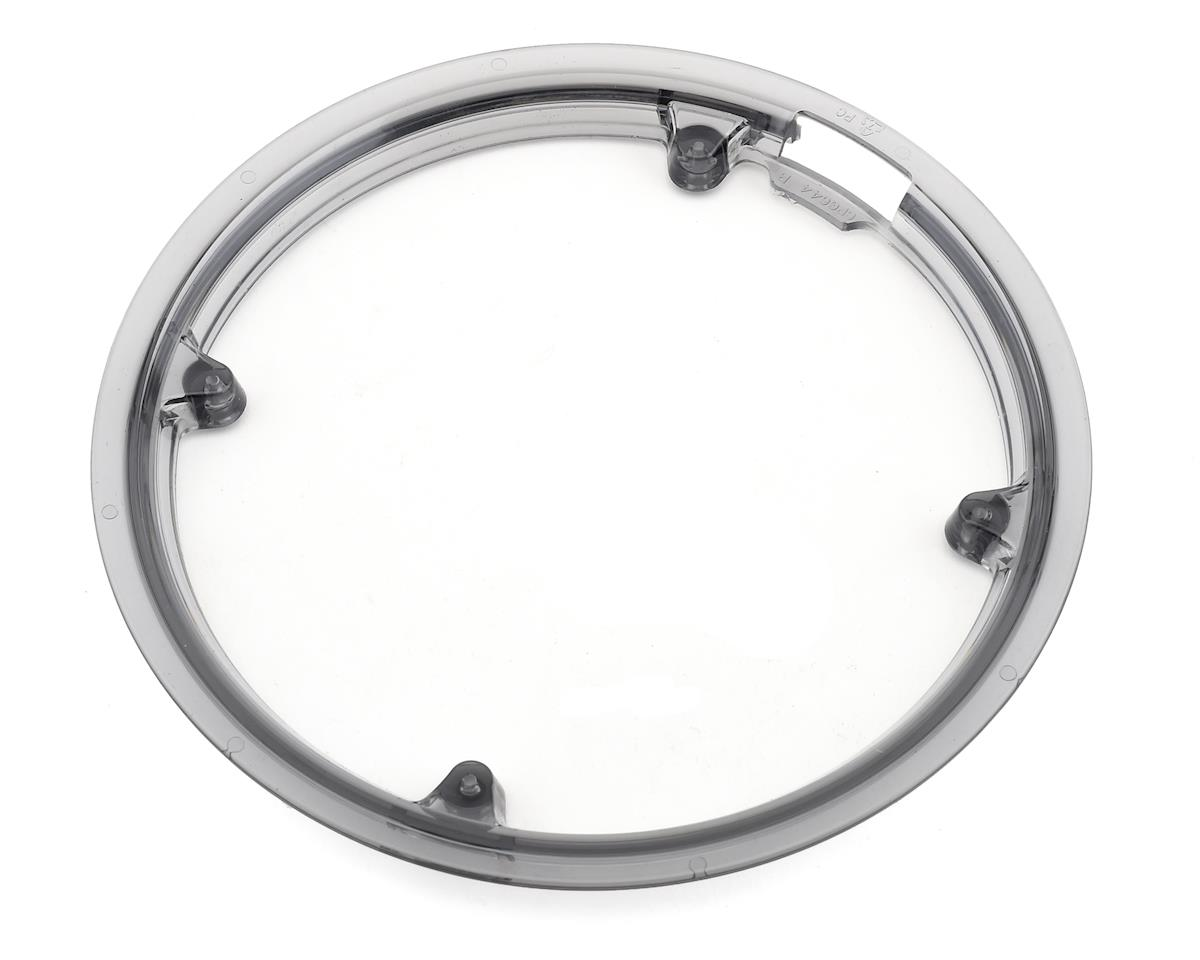 Sr Suntour Chainguard: 42t Outer Ring, Smoke