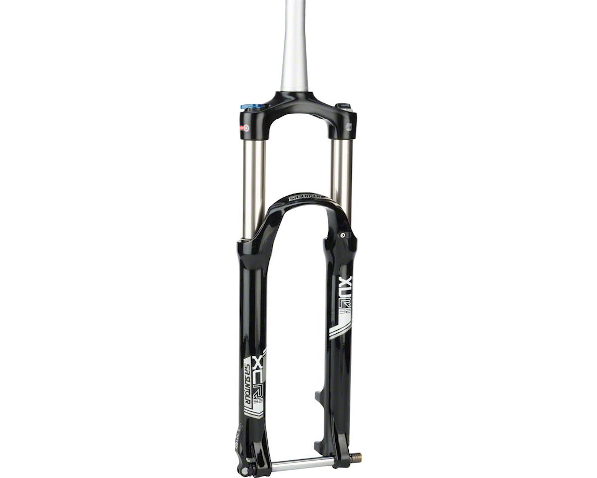 "SR Suntour XCR Air LO-R Suspension Fork: 27.5"", Tapered Steerer, 120mm Travel, 1"