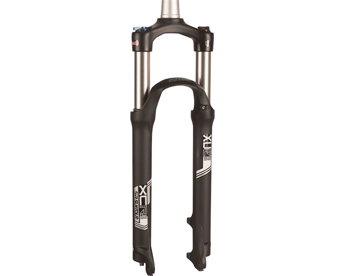 "SR Suntour XCR Air LO-R Suspension Fork: 27.5"", 1-1/8"" Threadless Steerer, 100mm"