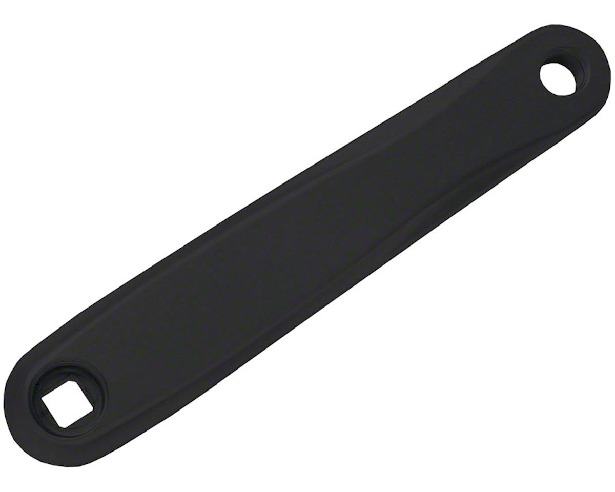 XCC Left Crank Arm Replacement: 175mm, Square Taper, Black