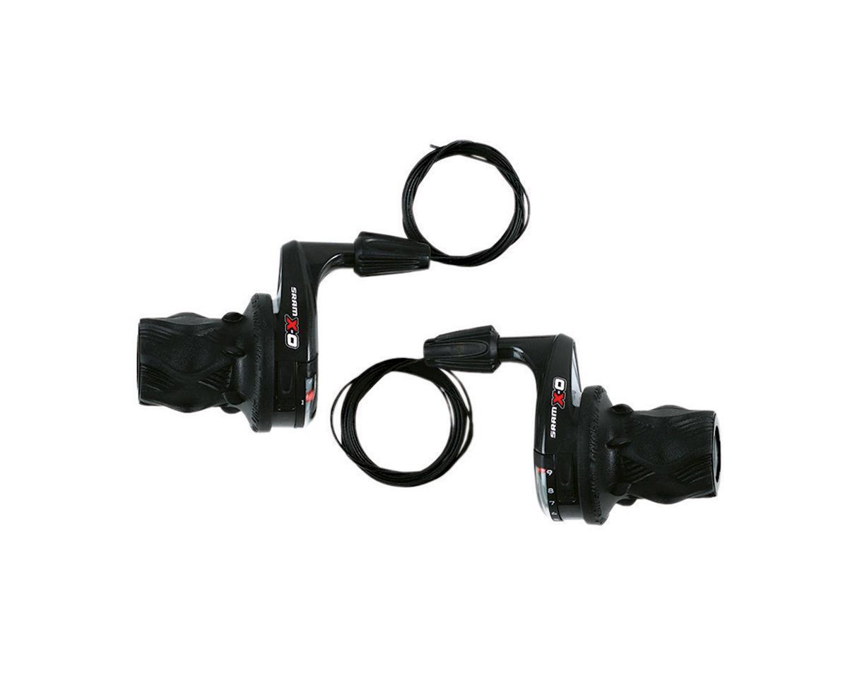 SRAM X0 Twist Shifter Set w/ Microfriction Front (3x9-Speed)