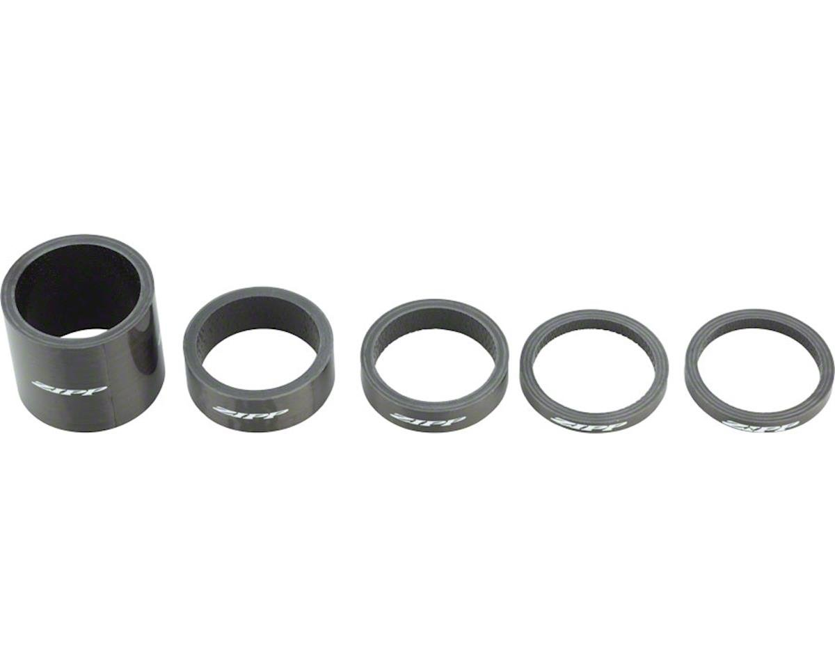 ZIPP 1-1/8 UD Carbon Headset Spacer Set (4, 8, 12, and 30mm) | relatedproducts