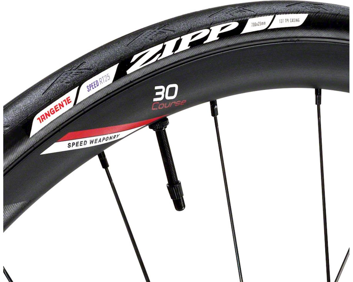 Zipp Tangente Speed Tubeless Clincher Road Tire (Black) (700x25)