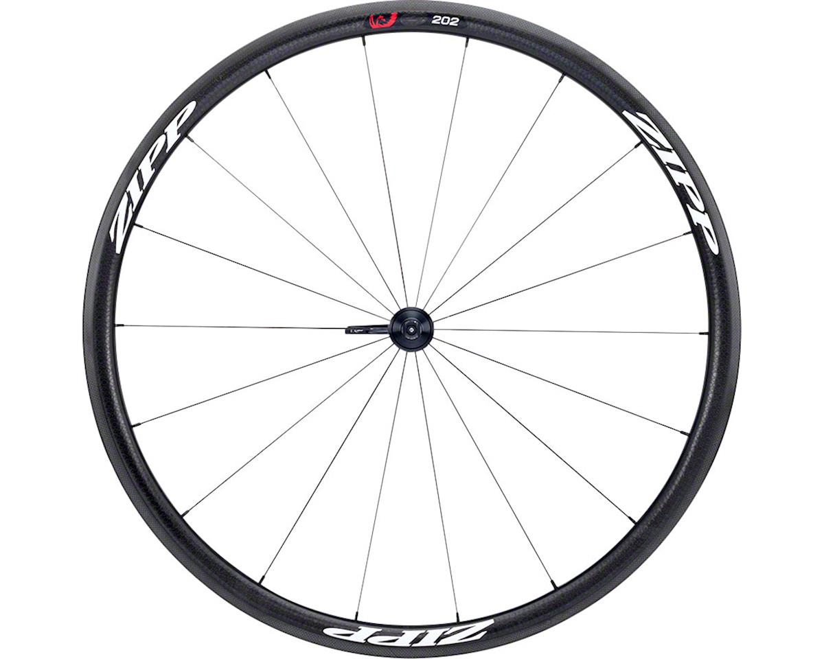 SRAM 202 Firecrest Carbon Clincher Front Wheel (White Decal) (700c)