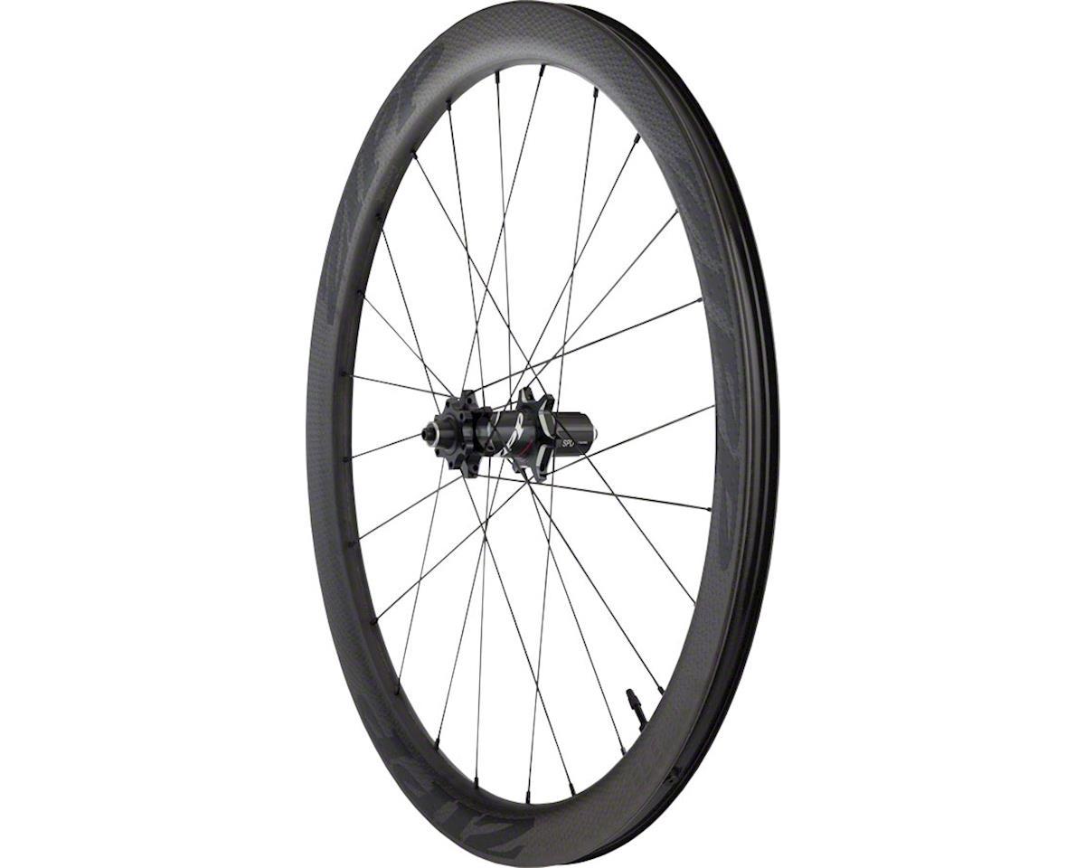 SRAM 303 Carbon Clincher Tubeless Rear Wheel (Black Decal) (700c) (6-Bolt Disc)