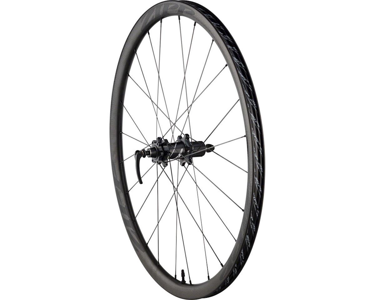 SRAM 202 Firecrest Carbon Clincher Tubeless Rear Wheel (700c) (6-Bolt Disc)