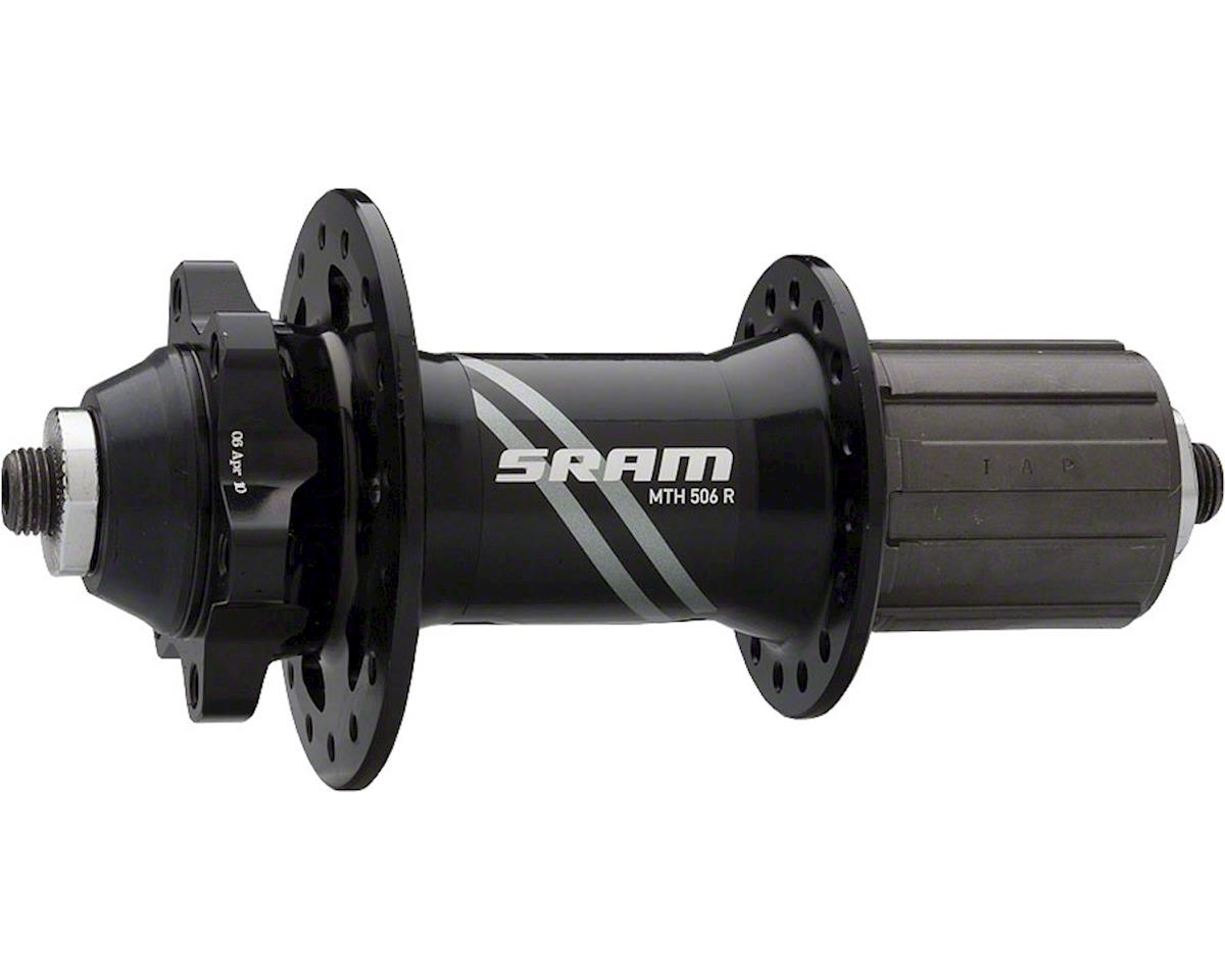 SRAM 506 32 Hole Rear Hub (Black) (QRx135mm) (6-Bolt)