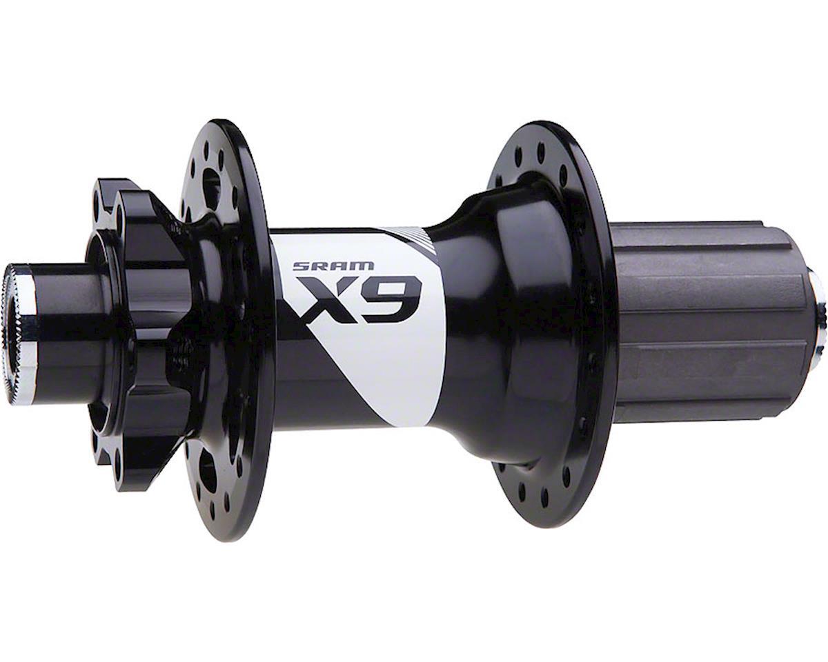SRAM X9 32 Hole Rear Hub (Shimano/SRAM 8/9/10-Speed) (12x135mm) (6-Bolt)