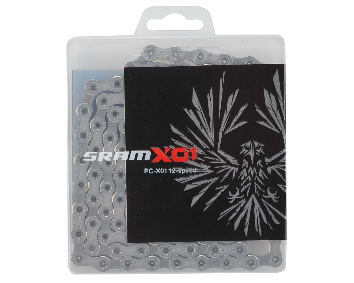 SRAM PC X01 Eagle 12 Speed Chain (126 Links w/ PowerLock)