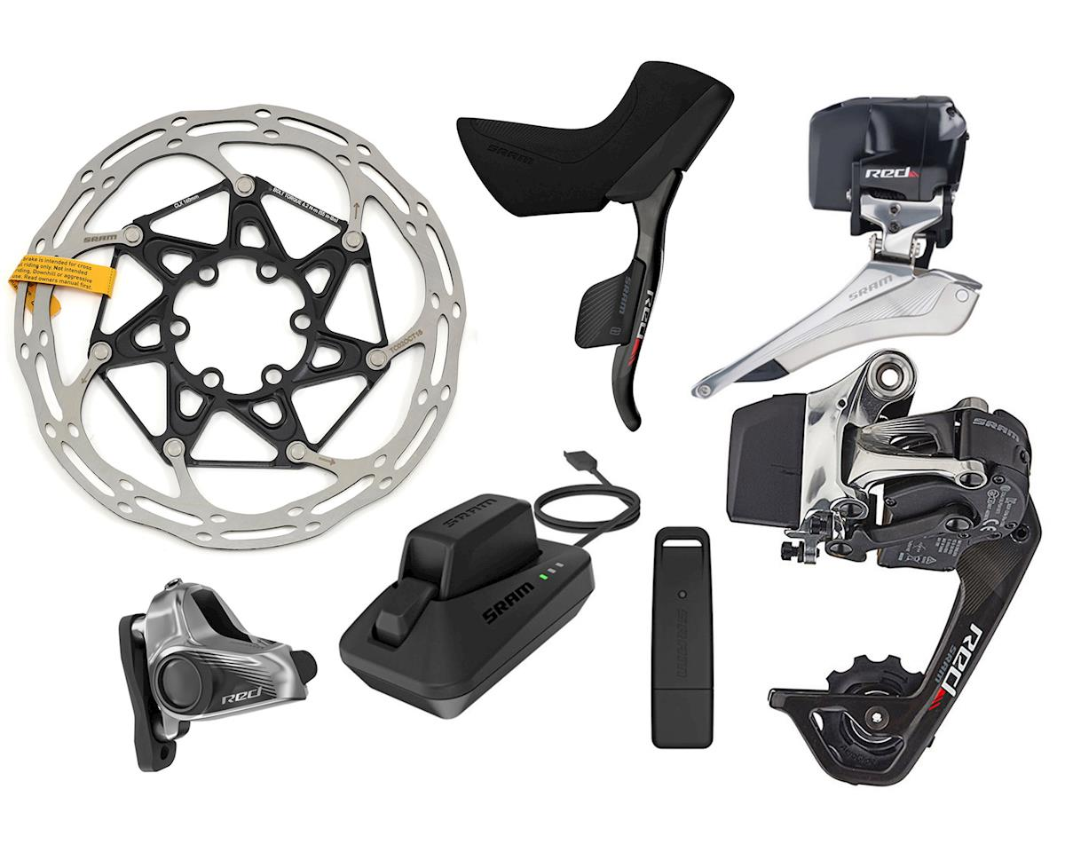 SRAM Red eTAP HRD WiFLi Groupset (Flat Mount Calipers) (32 Tooth Max)