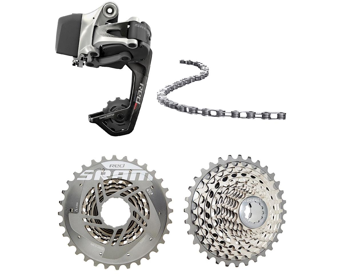 Red eTAP WiFLi Upgrade kit (Derailleur, Battery, Chain and cassette)