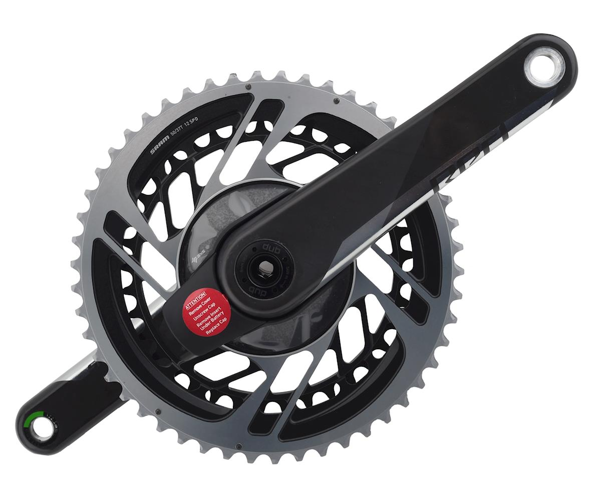 SRAM Red AXS Power Meter Crankset w/ DUB Spindle (172.5mm) (50-37T)