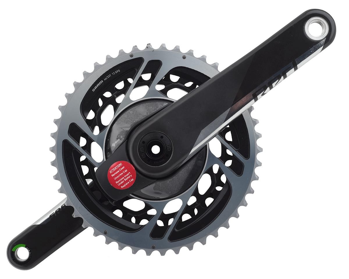 SRAM Red AXS Power Meter Crankset w/ DUB Spindle (172.5mm) (46-33T)