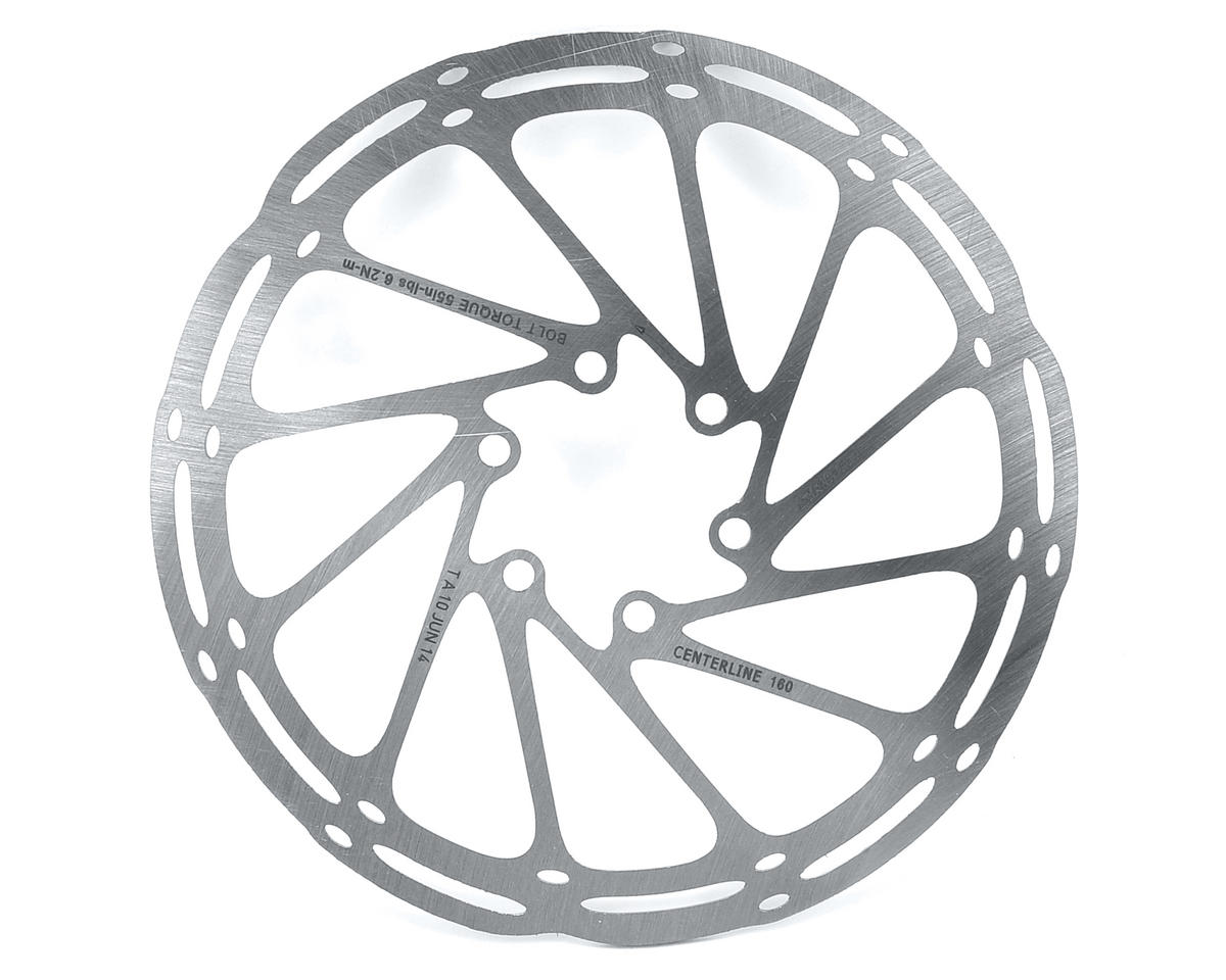 SRAM Centerline Disc Brake Rotor (6 Bolt) (160mm)