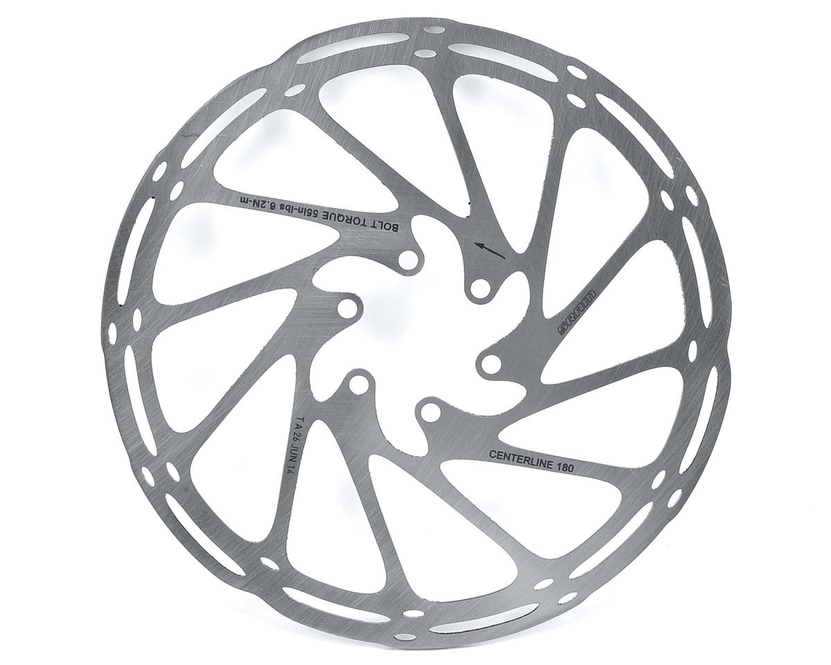SRAM Centerline Disc Brake Rotor (6 Bolt) (180mm)