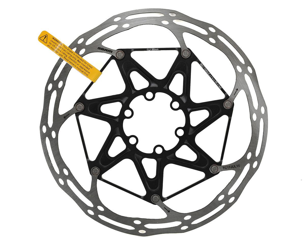 SRAM Centerline X 2-Piece Disc Brake Rotor (Black) (6 Bolt) (180mm)