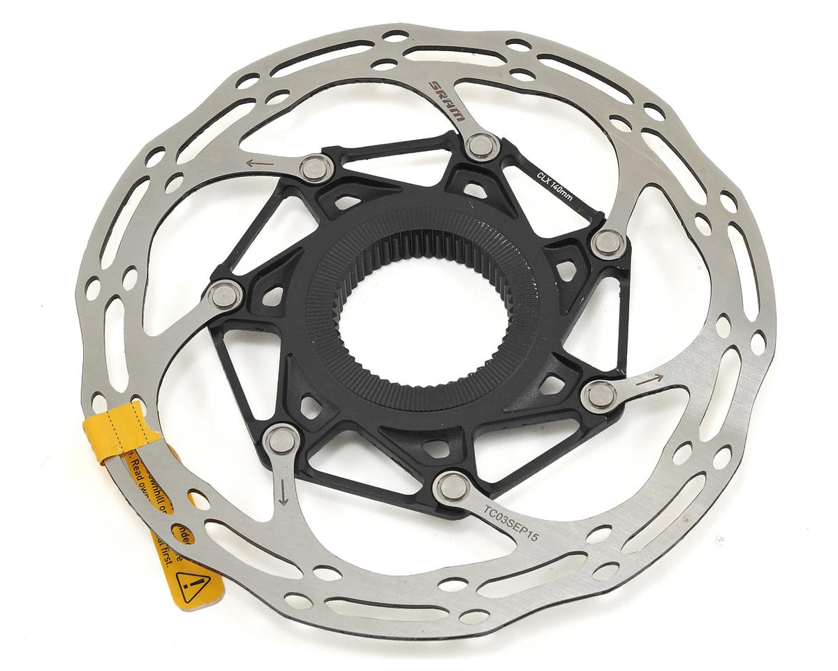 SRAM Centerline X 2-Piece Disc Brake Rotor (Black) (Centerlock)
