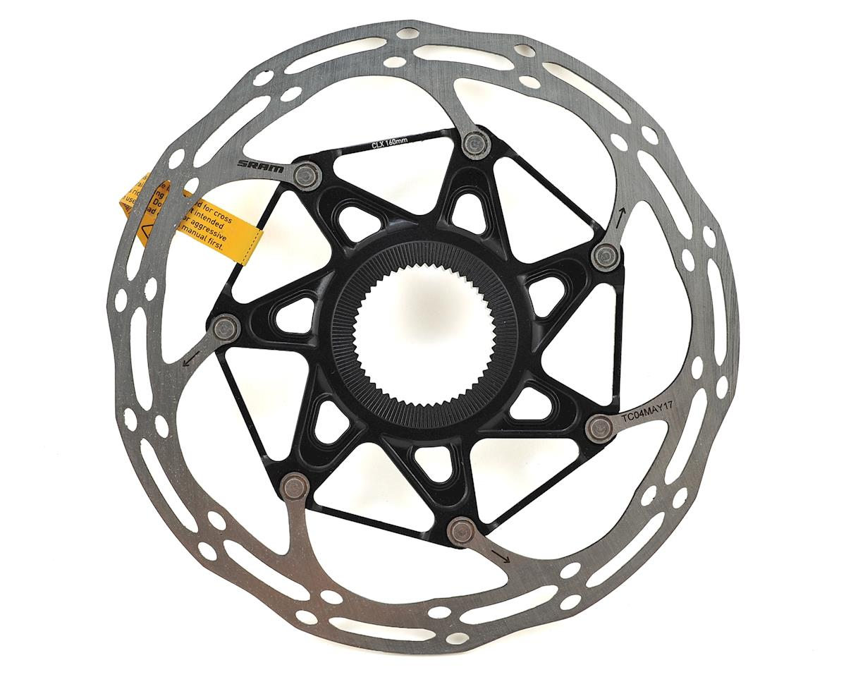 SRAM Centerline X 2-Piece Disc Brake Rotor (Black) (Centerlock) (160mm)
