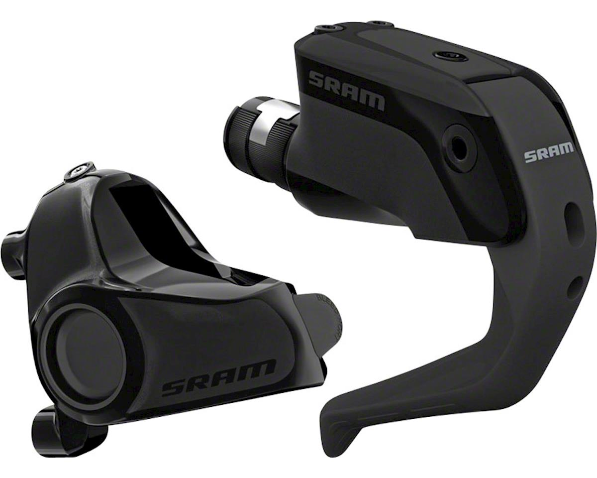 SRAM S900 Aero Disc Brake and Lever - Front, Hydraulic, Flat Mount, Black, A1