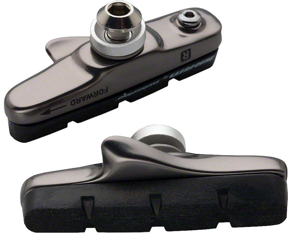 SRAM Red/Force/Rival 2010 Dark Silver Brake Shoe & Pads by SwissStop (Pair)