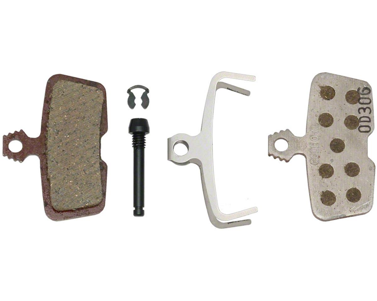 SRAM Organic Disc Brake Pad (Aluminum Plate) (Avid Code RSC, Code R, Guide RE) | relatedproducts