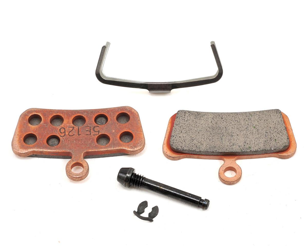 4 Pairs Organic Disc Brake Pads for AVID Elixir X0 XO Trail silver Disc Brake