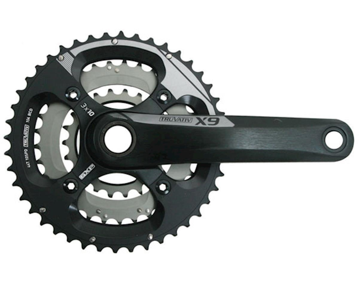 SRAM X9 3x10 BB30 Crankset (Black/Grey) (175mm) (22/33/44T)