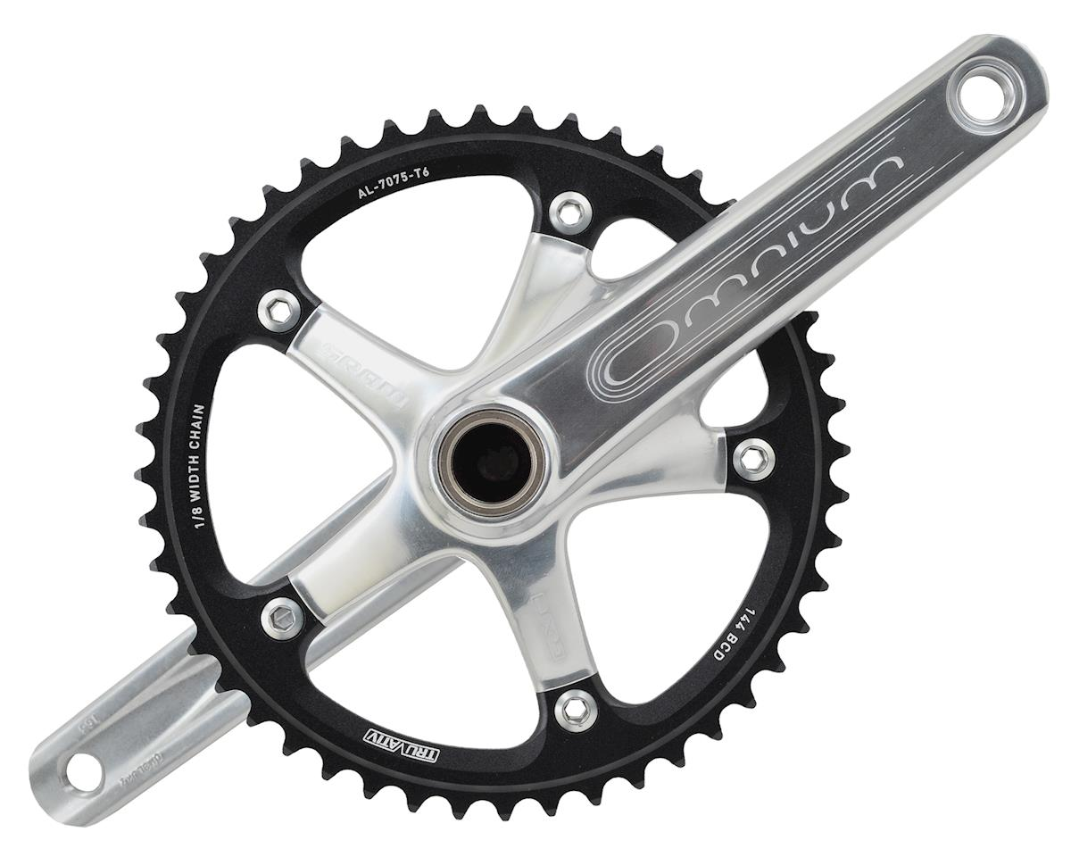 SRAM Omnium 48-Tooth Track Crankset With GXP Bottom Bracket (Silver)