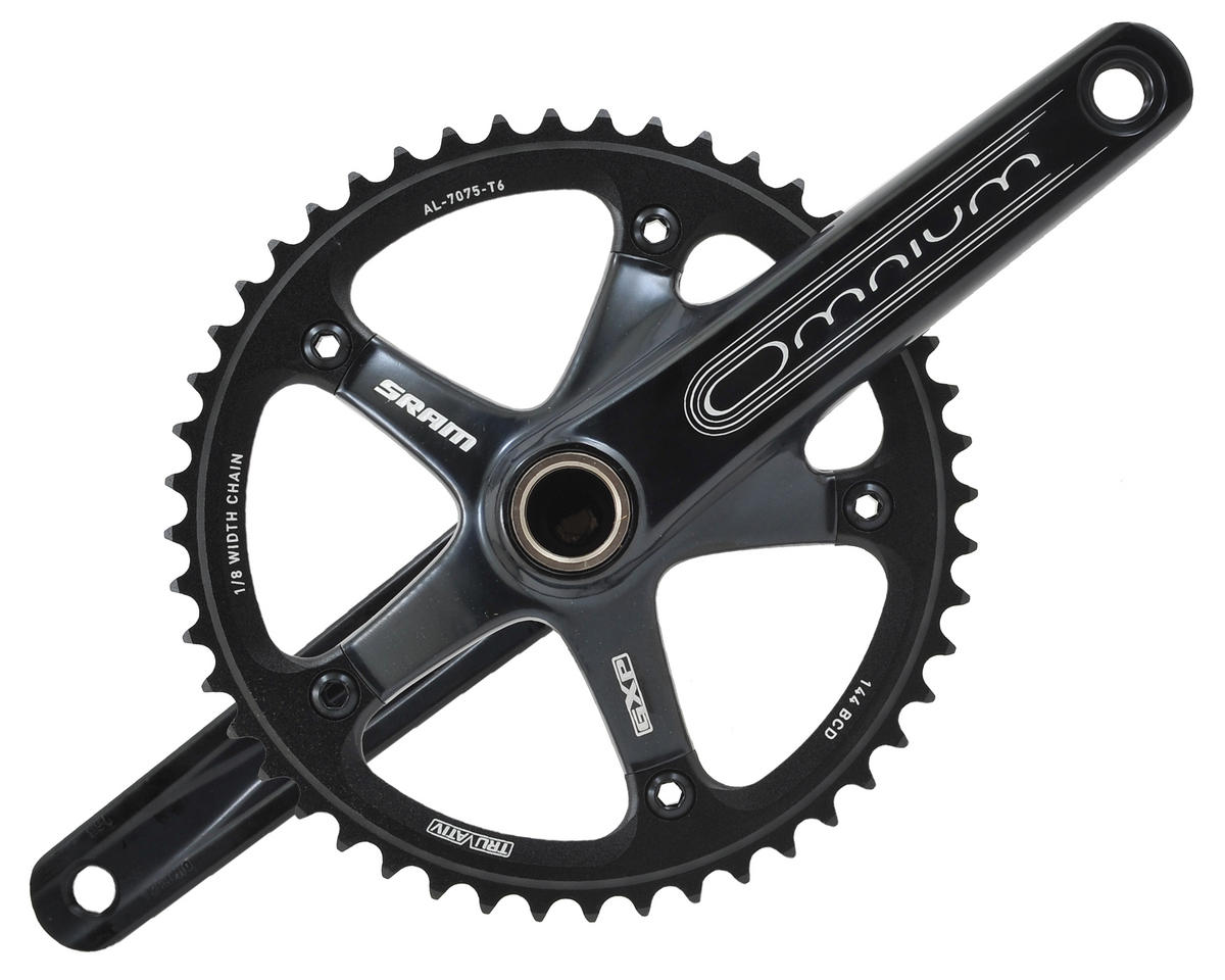 SRAM Omnium 48-Tooth Track Crankset With GXP Bottom Bracket (Black) (165mm)