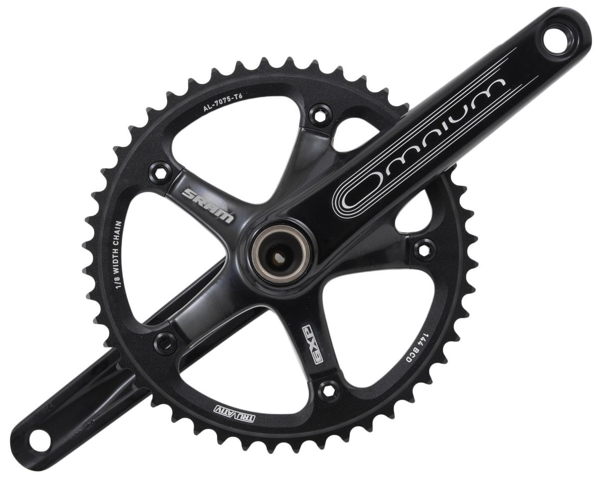 SRAM Omnium 48-Tooth Track Crankset With GXP Bottom Bracket (170mm)