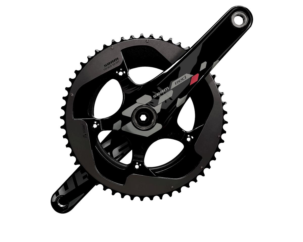 SRAM SRM Red 2012 Exogram Crankset w/o BB 170mm 50/34T Blk/Sil
