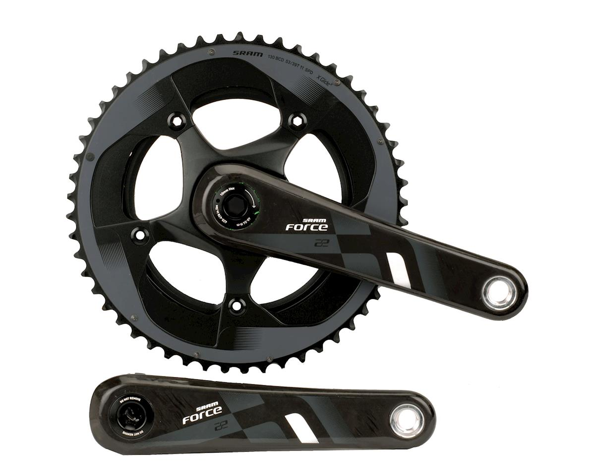 SRAM Force 22 BB30 53-39T 11-Speed Crankset (172.5mm)