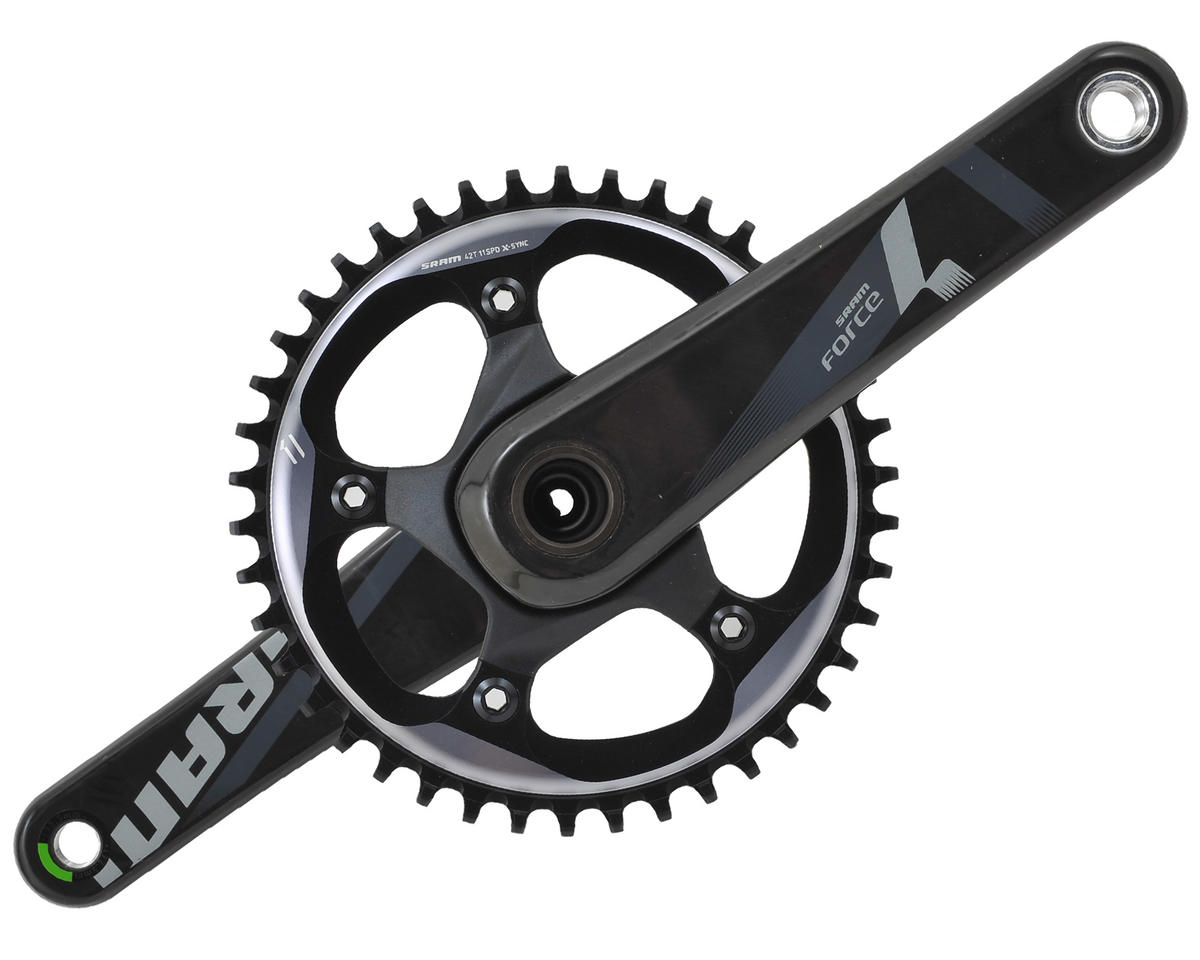 SRAM Force 1/CX1 GXP 110 BCD Crankset (42T) (172.5mm)