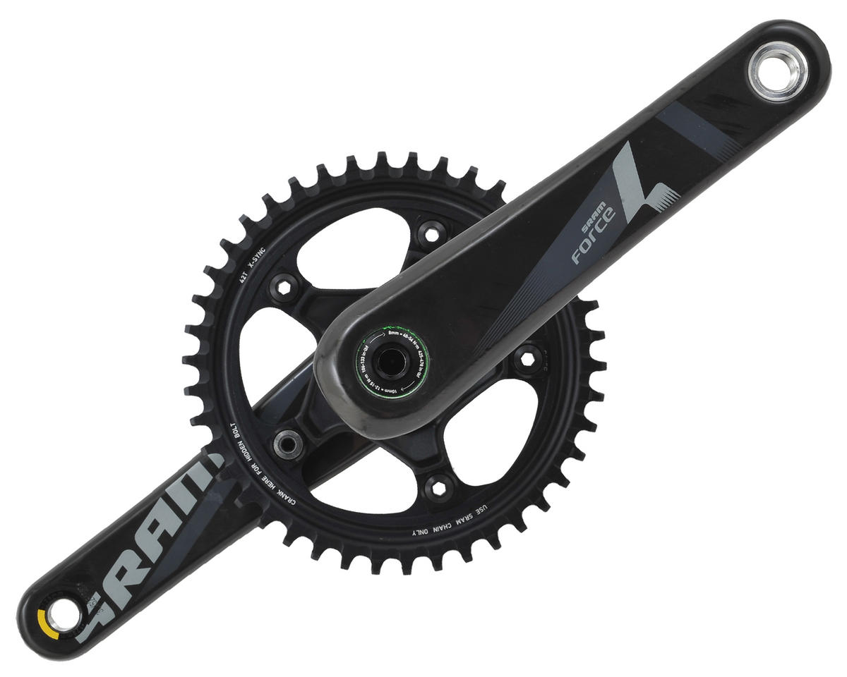 SRAM Force 1/CX1 GXP 110 BCD Crankset (42T) (175mm)