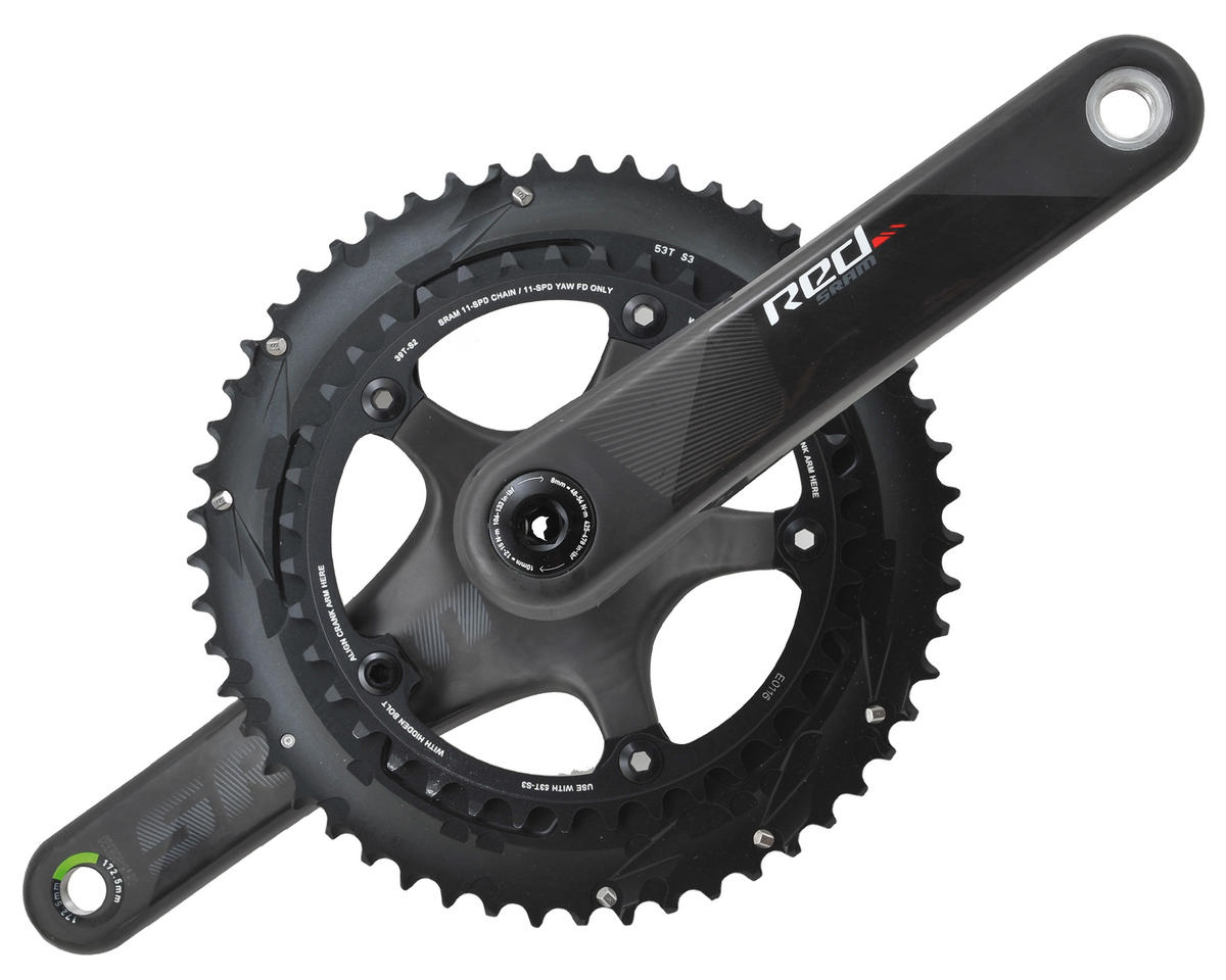 SRAM Red Crankset C2 GXP 11-Speed (53-39) (172.5mm)