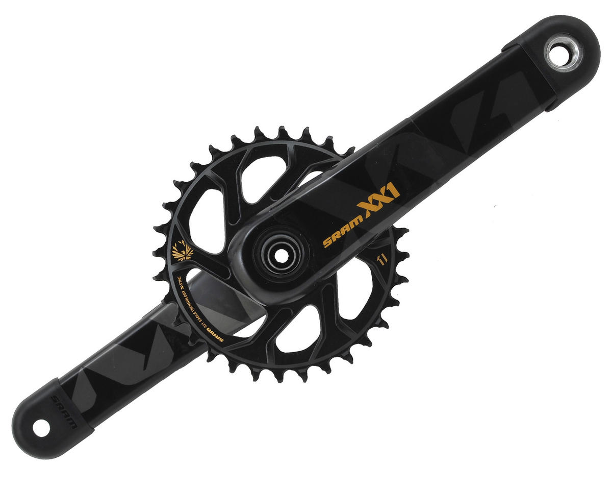 SRAM XX1 Eagle Boost 12 Speed Crankset (32T) (Gold) (175mm)