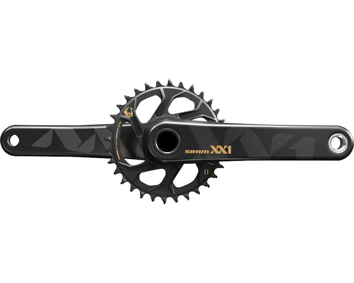 SRAM XX1 Eagle Crankset (Black/Gold) (BB30) (32T) (175mm)