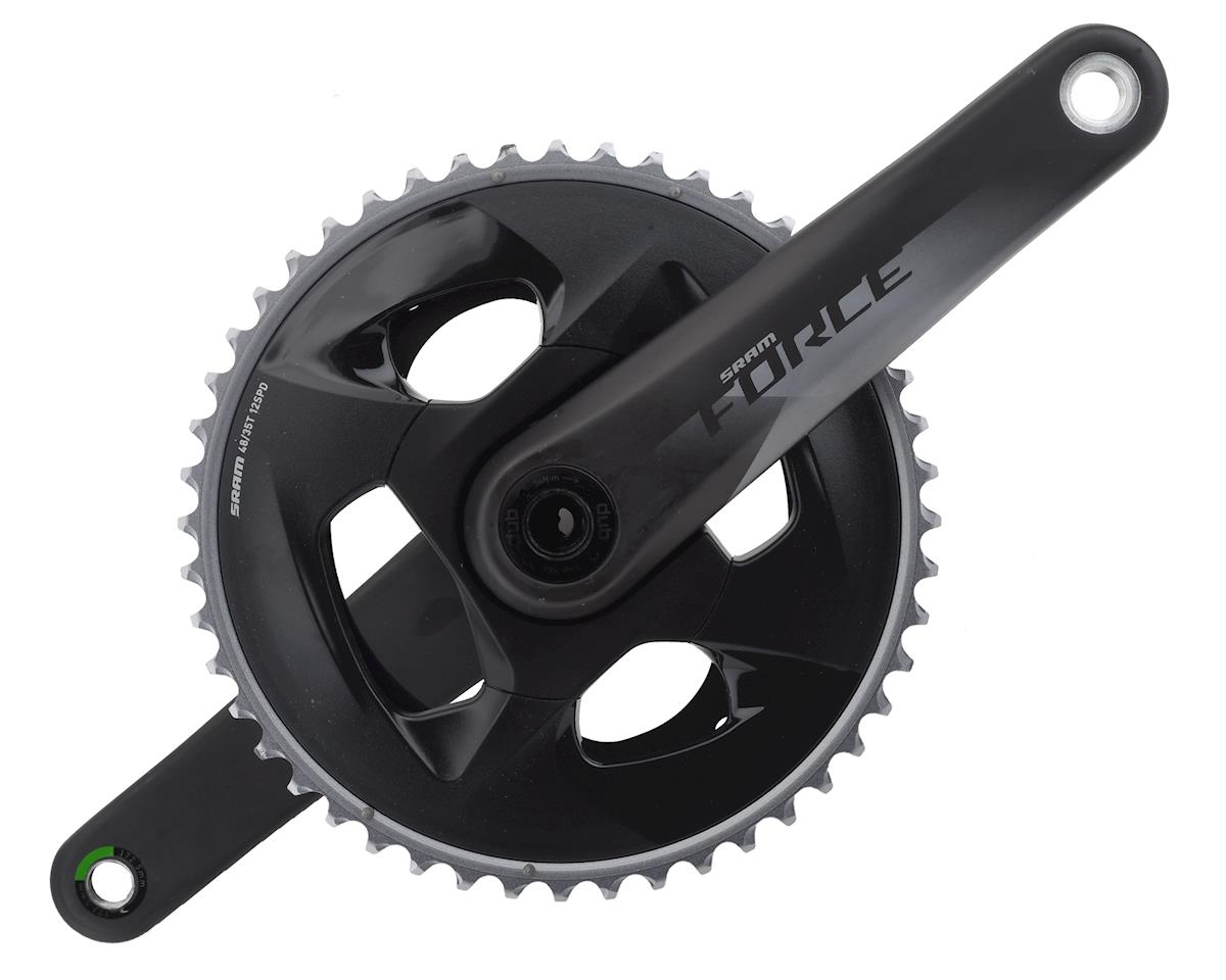 SRAM Force AXS 12-Speed Crankset (Black) (DUB) (172.5mm) (48-35T)