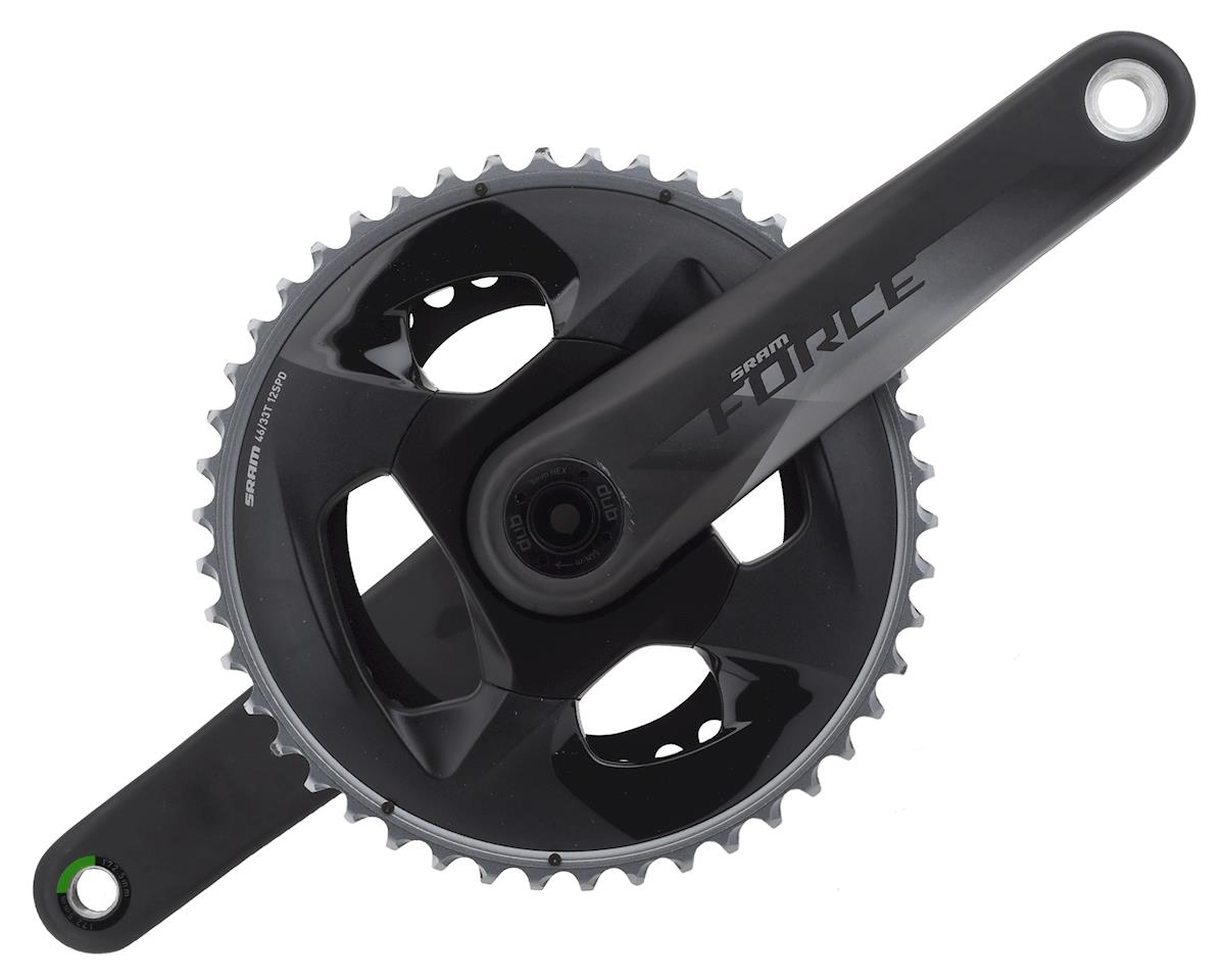 SRAM Force AXS 12-Speed Crankset (Black) (DUB) (172.5mm) (46-33T)