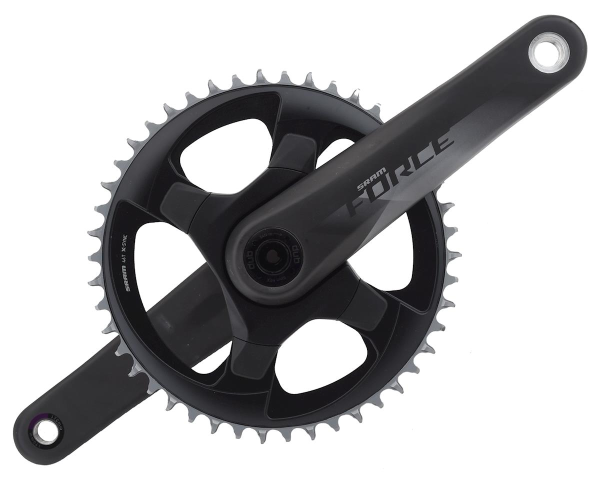SRAM Force 1 AXS 12-Speed Crankset (Black) (DUB)