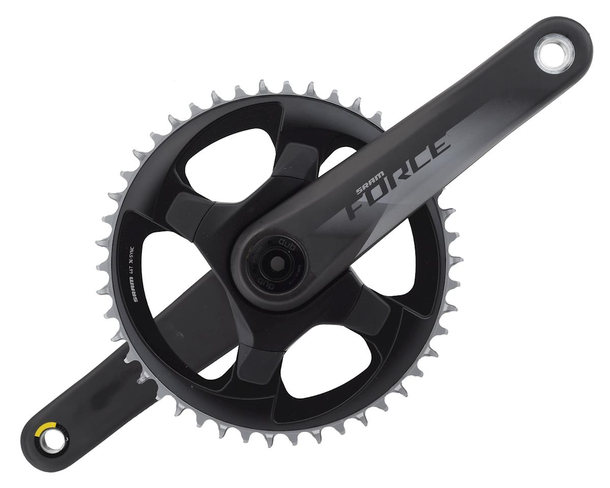 SRAM Force 1 AXS 12-Speed Crankset (Black) (DUB) (175mm) (46T)