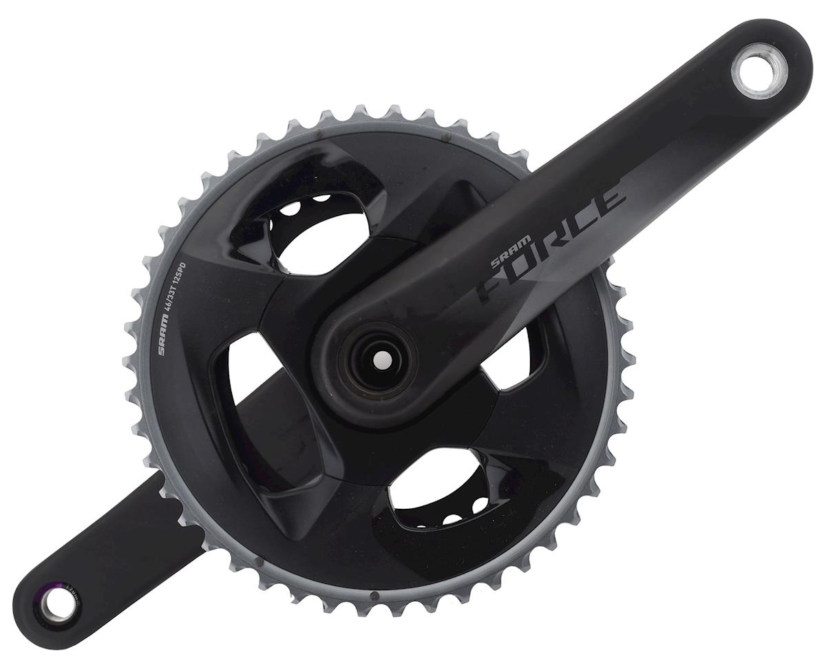 SRAM Force AXS 12-Speed Crankset (Black) (GXP) (170mm) (46-33T)