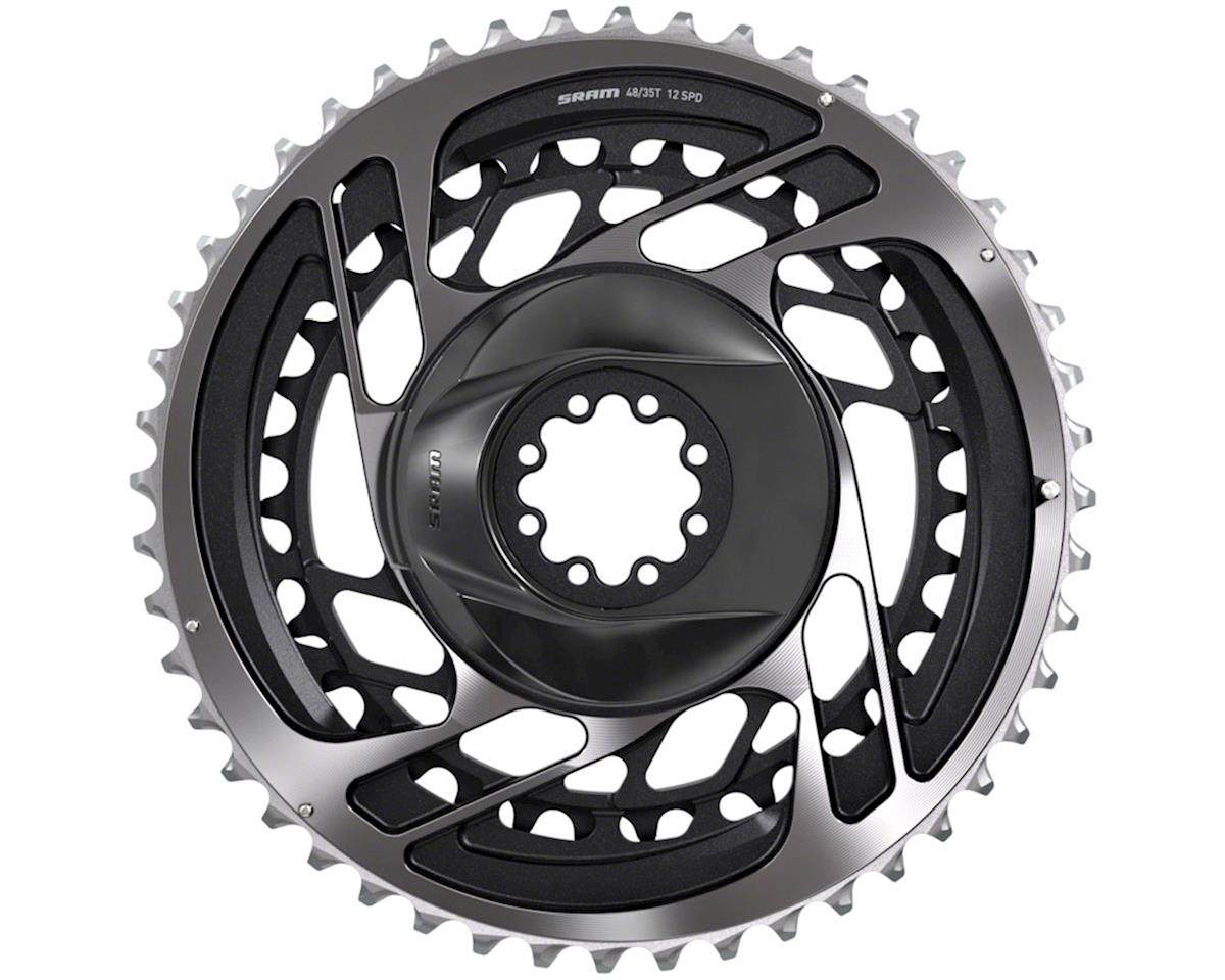 SRAM Red AXS Direct-Mount 2x12 speed Chainring (Polar Gray) (50-37T)