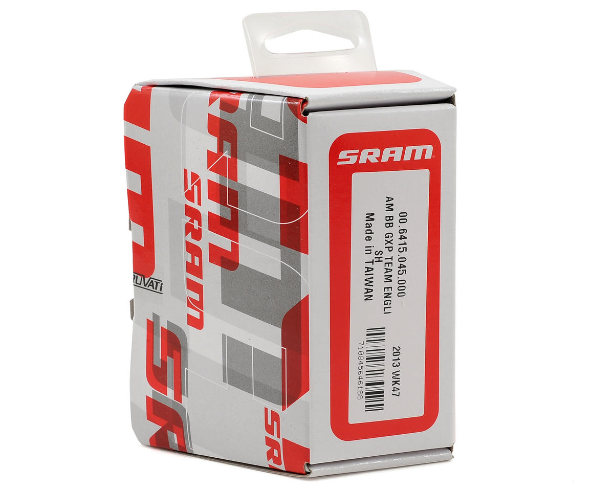 SRAM Team GXP English Bottom Bracket (Gray)