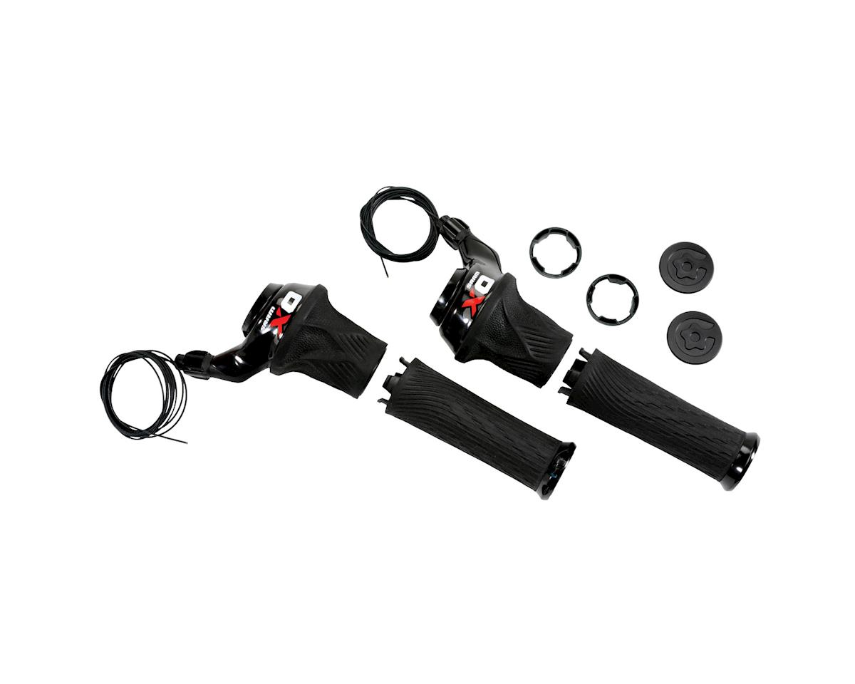 SRAM X0 2x10 Grip Shifters (Red)