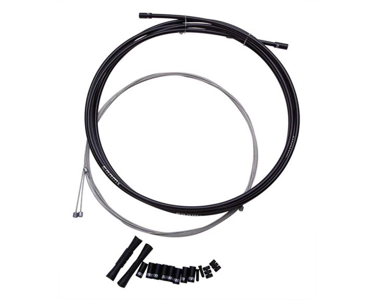 SRAM 4mm Road/MTB Shift Cable/Housing System (2300mm) (Black)